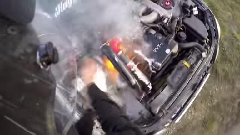 2jz Lexus Drift Explosion