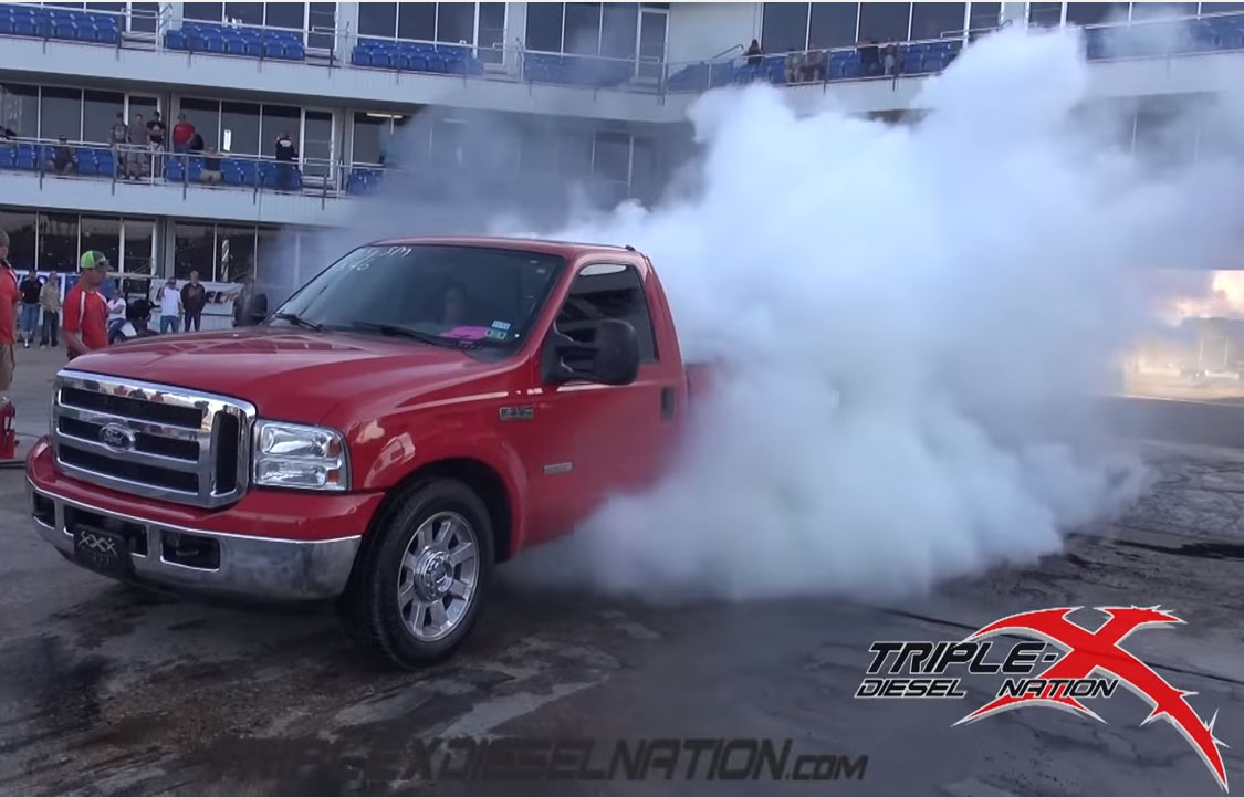 HUGE BURNOUTS!