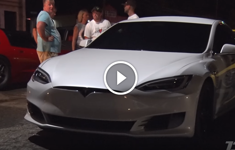 Tesla Destroys Mustang