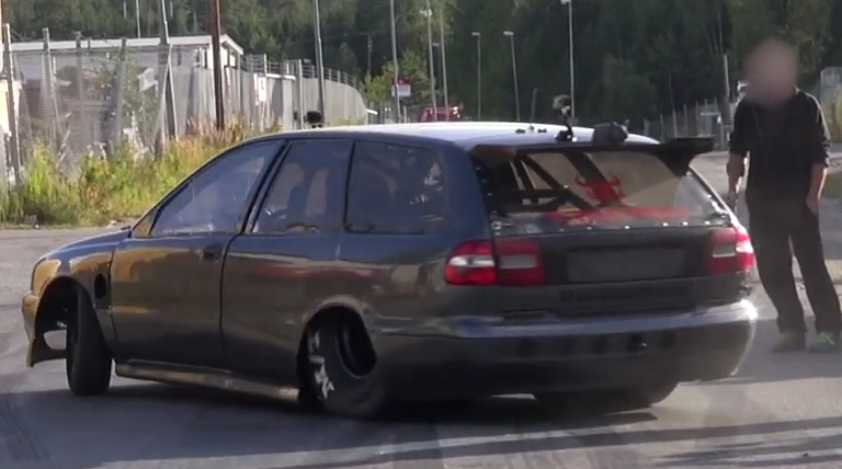 Big Tire Grocery Getter